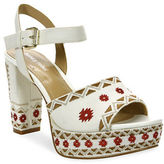 Luxury Rebel Emila Embroidered Dress Sandals