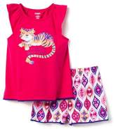 Gymboree Tiger 2-Piece Sleep Set