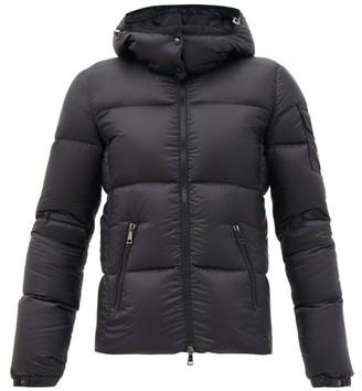 Moncler Fourmi Down-padded Technical-shell Hooded Jacket - Black