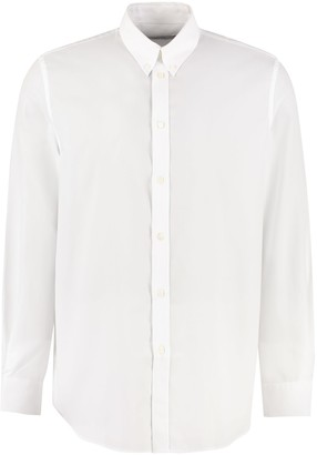 Givenchy Cotton Shirt With Button-down Collar