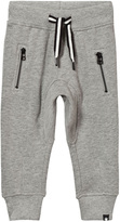 Molo Ashton Pants In Grey Melange