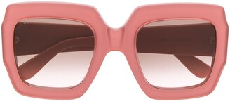 Gucci GG oversized-frame sunglasses