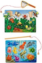 Melissa & Doug Fishing & Bug Catching Magnetic Game Bundle 2-Pk
