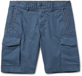 Michael Kors - Garment-dyed Stretch-cotton Twill Cargo Shorts