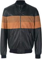 Drome panelled bomber jacket