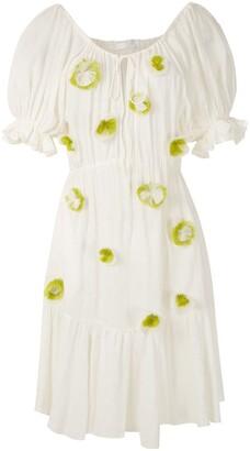 Clube Bossa Ressina embroidered dress