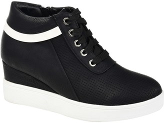 Journee Collection Ayse Wedge Sneaker