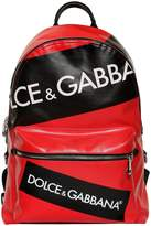 Dolce & Gabbana Logo Tape Coated Cordura Backpack