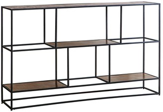 Gda Hailsham Low Shelving Unit Antique Copper