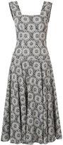 Derek Lam floral print flared dress - women - Cotton - 36