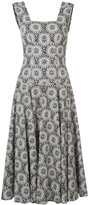 Derek Lam floral print flared dress - women - Cotton - 42
