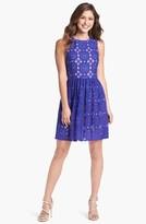 Ivy & Blu Lace Fit & Flare Dress