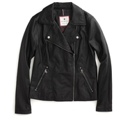 Tommy Hilfiger Vegan Leather Moto Jacket