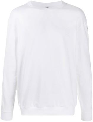 Moschino Logo Printed Night Sweatshirt