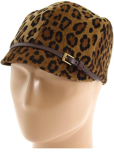 Eugenia Kim Muffy (Leopard/Brown) - Hats