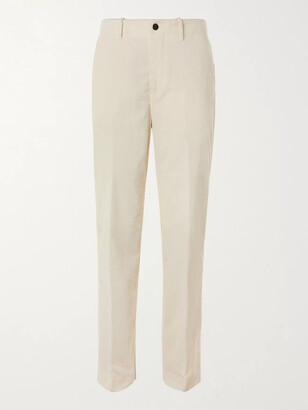 Mr P. Cotton And Cashmere-Blend Corduroy Trousers