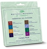 Naturopatch of Vermont Natural Patches of Vermont - Aromatherapy Body Patch Essential Oil Blend Variety Pack - 8 Patch(es) Formerly Naturopatch by Natural Patches of Vermont