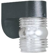 "Westinghouse 4-1/2"" Black Wall Lantern"