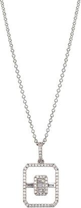 Bony Levy Diamond Open Shape Pendant Necklace