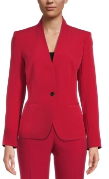 Kasper Collarless Blazer