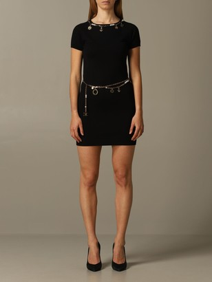 Elisabetta Franchi Celyn B. Elisabetta Franchi Dress Elisabetta Franchi Dress With Metal Chains And Pendants