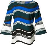 Fendi Waves top - women - Cotton - 38