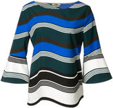 Fendi Waves top - women - Cotton - 40