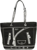 Moschino Printed Detail Tote