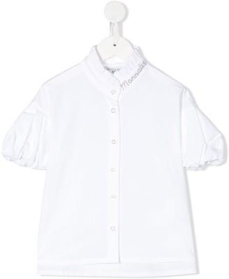 MonnaLisa Pouf Sleeve Shirt