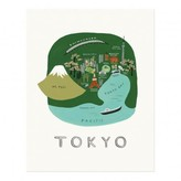 Rifle Paper Co. Rifle Paper Tokyo Poster - 28x35 cm