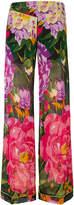 Twin-Set summer garden print palazzo pants