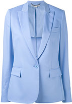 Stella McCartney single breasted blazer - women - Cotton/Viscose/Wool - 36