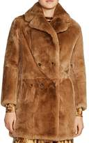 Maje Gati Fur Coat