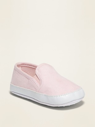 Old Navy Unisex Faux-Suede Slip-Ons For Baby