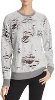 Iro . Jeans Iro. jeans Kismet Destructed Sweatshirt - 100% Exclusive