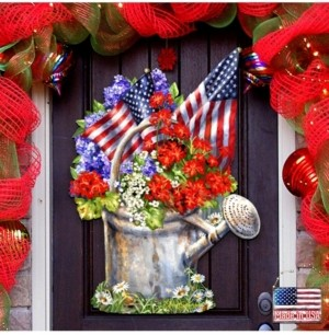 Designocracy by Dona Gelsinger Celebrating The American Freedom Wall and Door Hanger