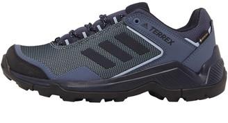 adidas Womens Terrex Eastrail Goretex Hiking Shoes Ash Grey/Legend Ink/Glow Blue