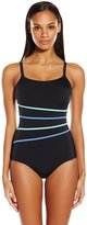 Fit 4 U Women's Fit 2 Swim 4 Tape Cami Tank One Piece Swimsuit