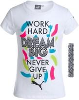 Puma Crew T-Shirt with Headband - Short Sleeve (For Little Girls)