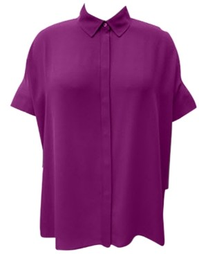 Alfani Pleated-Back Tunic, Created for Macy's
