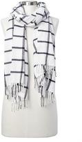 Gap Cozy modal plaid scarf