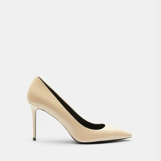 Theory Pump in Patent Leather