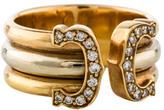 Cartier C de Diamond Ring