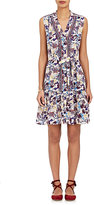 Saloni Women's Tilly-C Floral Silk Sleeveless Dress