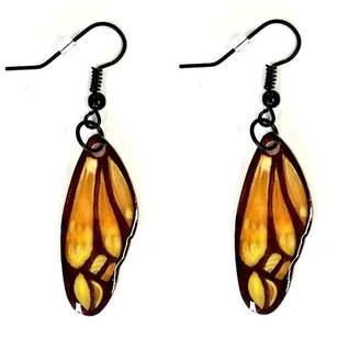 Love's Hangover Creations Butterfly Wing Earrings