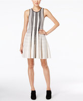Catherine Malandrino Catherine Noreen Striped Fit & Flare Dress
