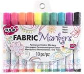 Tulip 31649 Fabric Markers, 10-Pack