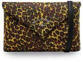 Vivienne Westwood Leopard Print Envelope Clutch Bag