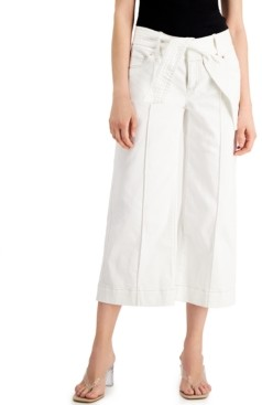 INC International Concepts Inc Tie-Waist Culotte Pants, Created for Macy's