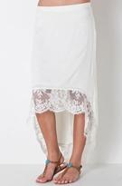 Merritt Charles Caliste Skirt In Creme